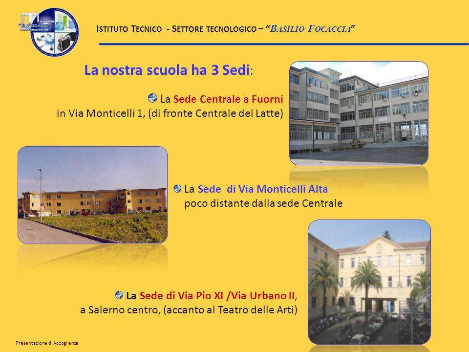 La nostra scuola ha 3 Sedi: