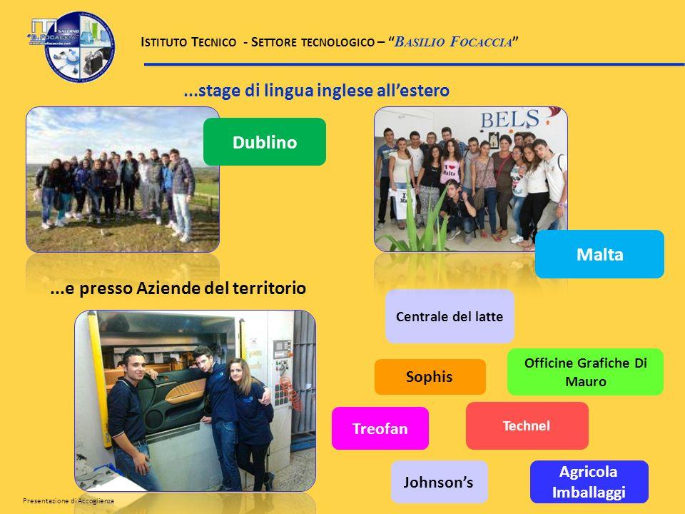 ...stage di lingua inglese all'estero Officine Grafiche Di Mauro
