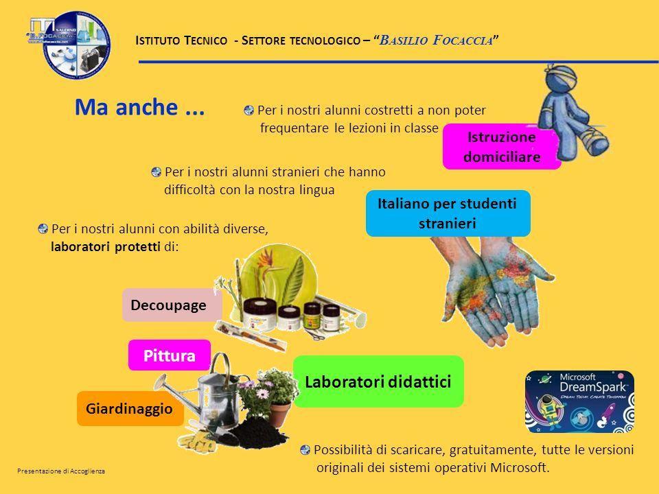 Istruzione domiciliare Italiano per studenti stranieri