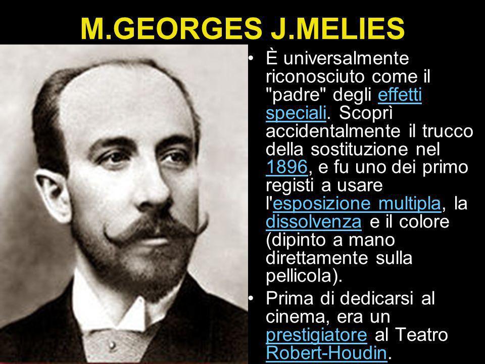 M.GEORGES J.MELIES