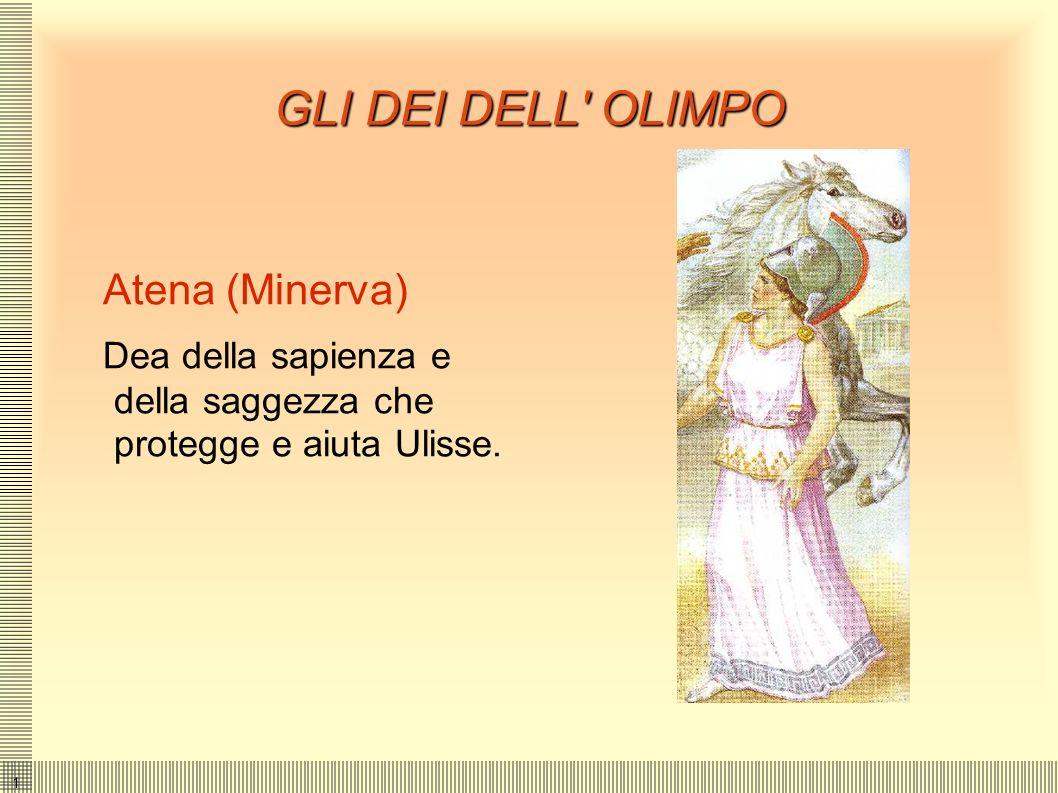 GLI DEI DELL OLIMPO Atena (Minerva)