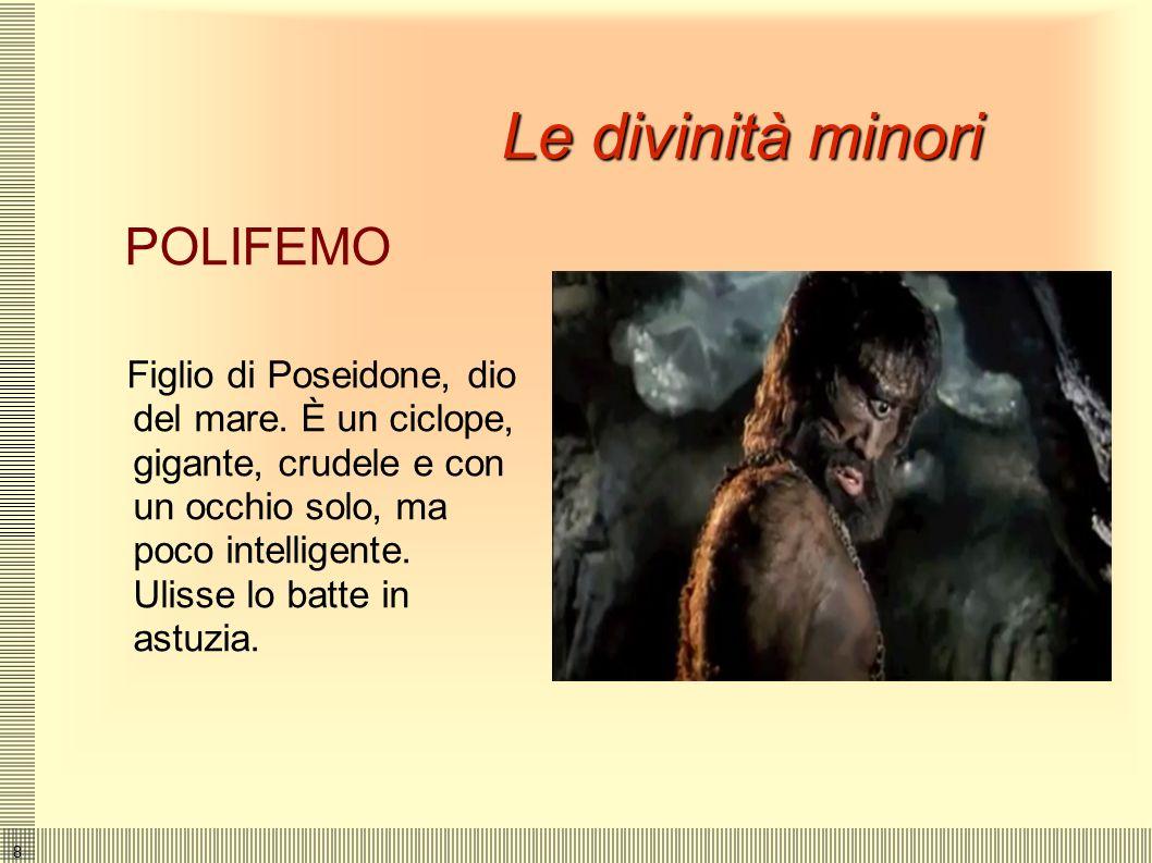 Le divinità minori POLIFEMO