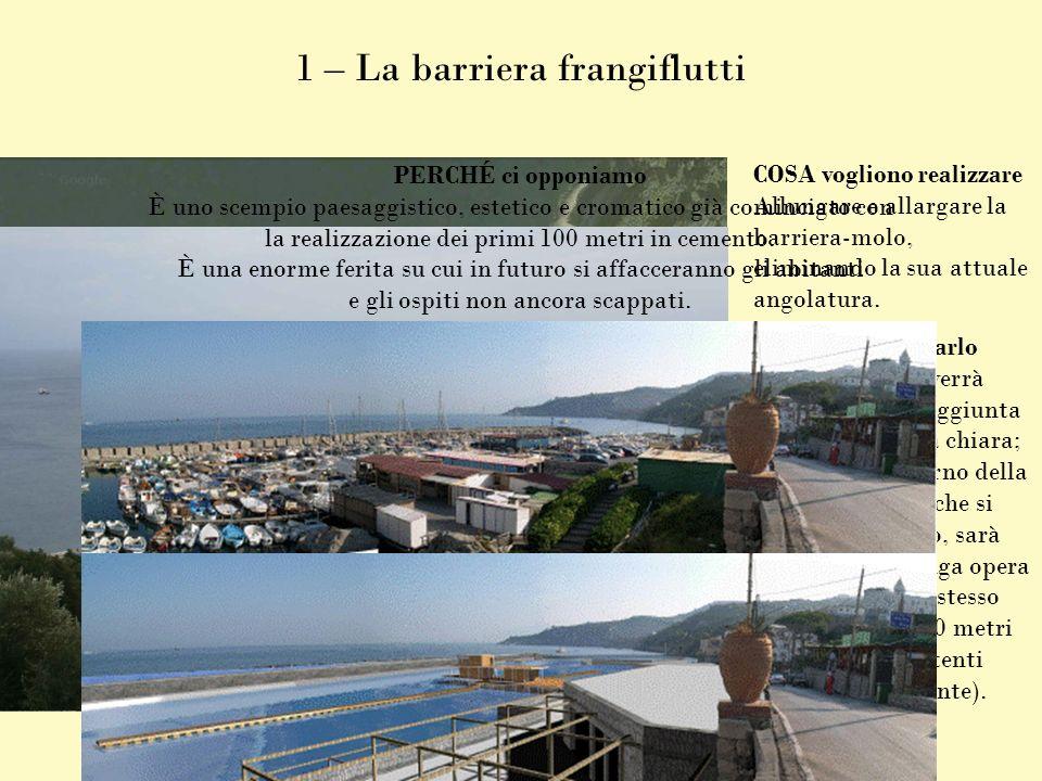 1 – La barriera frangiflutti