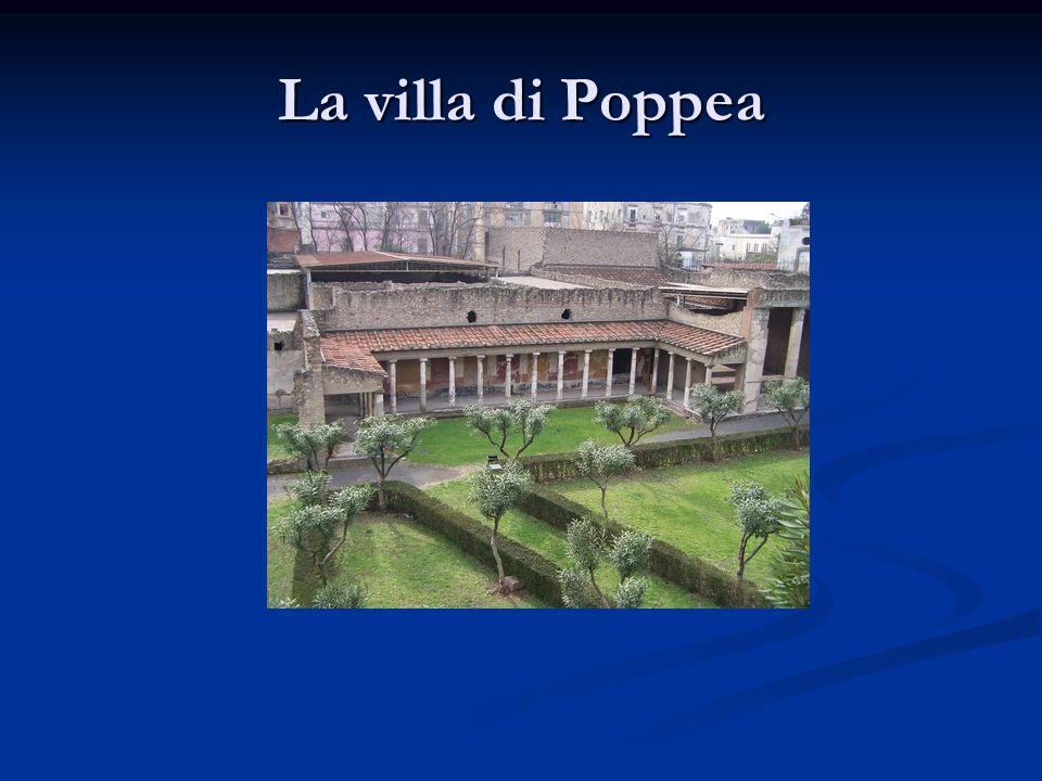La villa di Poppea