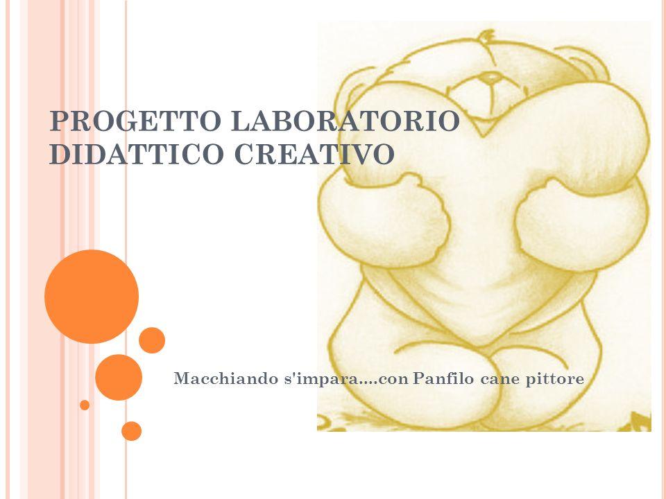PROGETTO LABORATORIO DIDATTICO CREATIVO