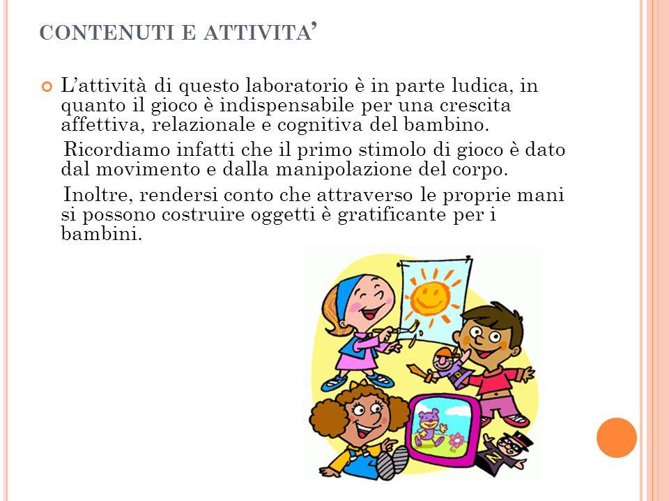 contenuti e attivita'