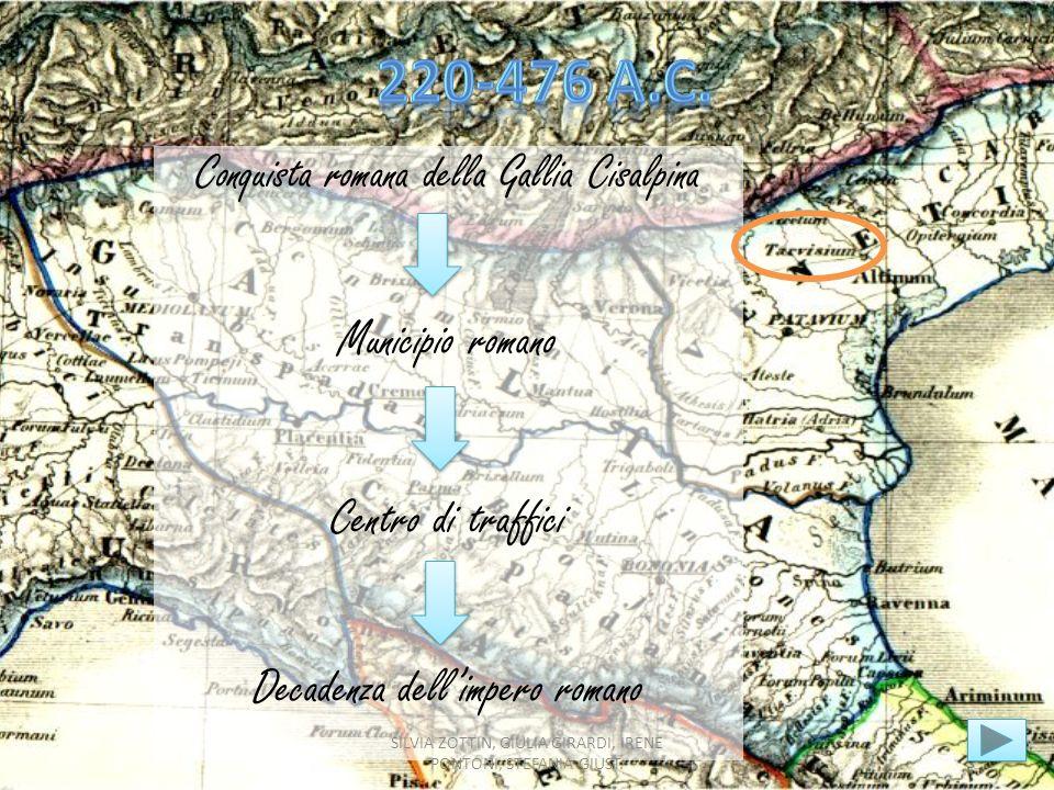 220-476 a.C. Municipio romano Centro di traffici