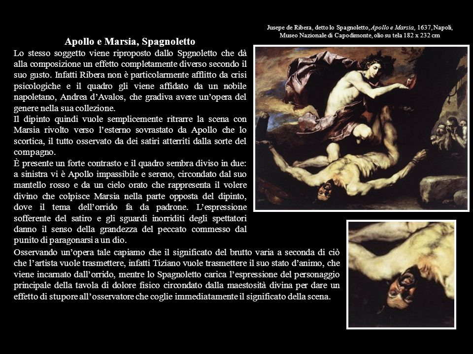 Apollo e Marsia, Spagnoletto