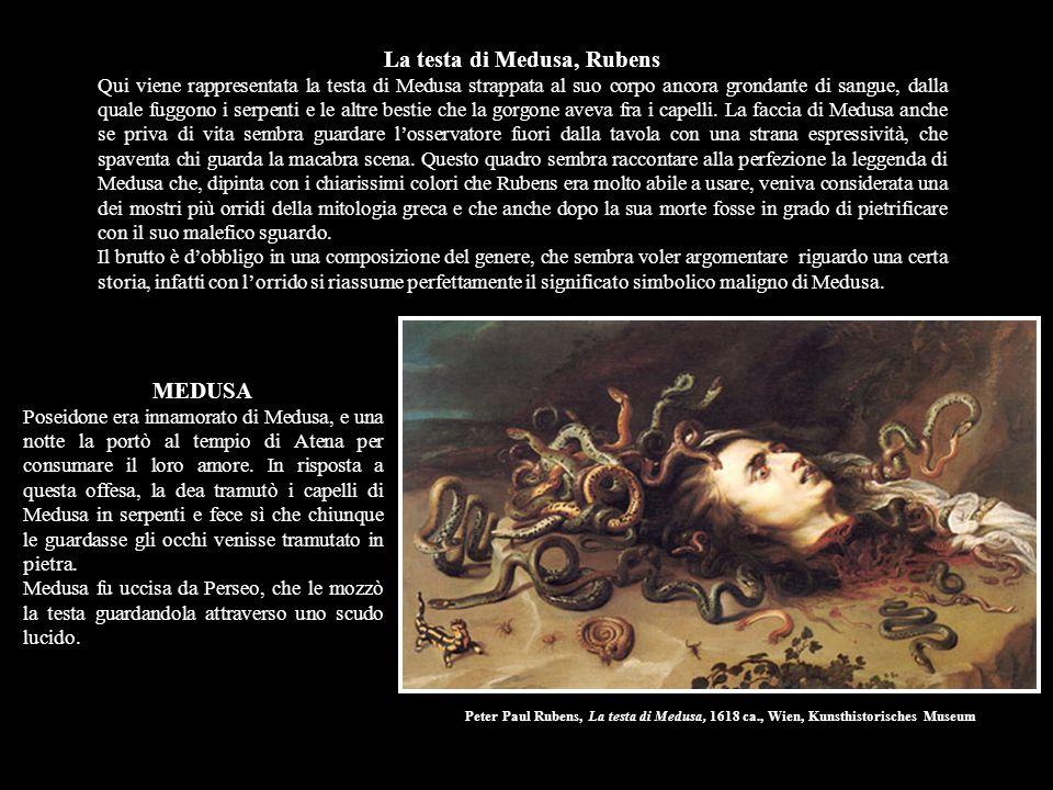 La testa di Medusa, Rubens