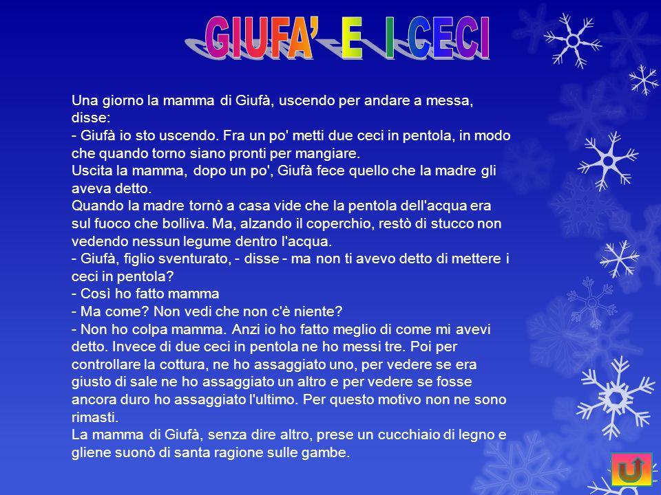 GIUFA' E I CECI