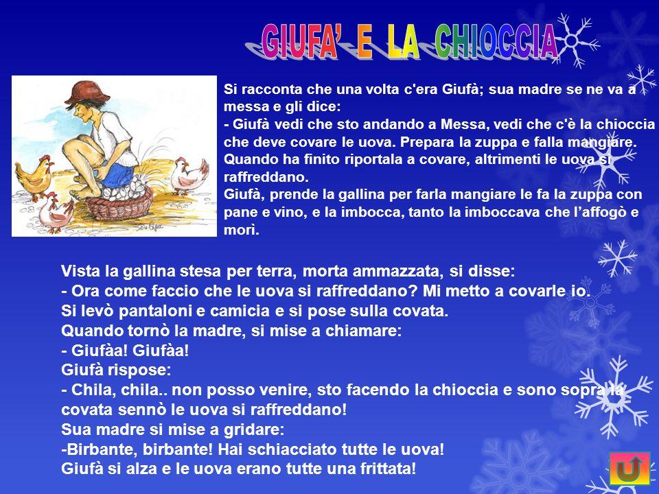 GIUFA' E LA CHIOCCIA