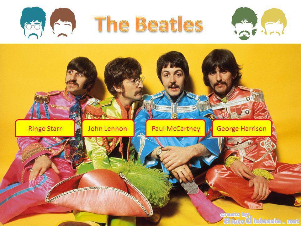 The Beatles Ringo Starr John Lennon Paul McCartney George Harrison