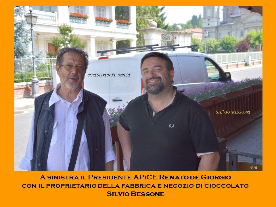 A sinistra il Presidente APiCE Renato de Giorgio