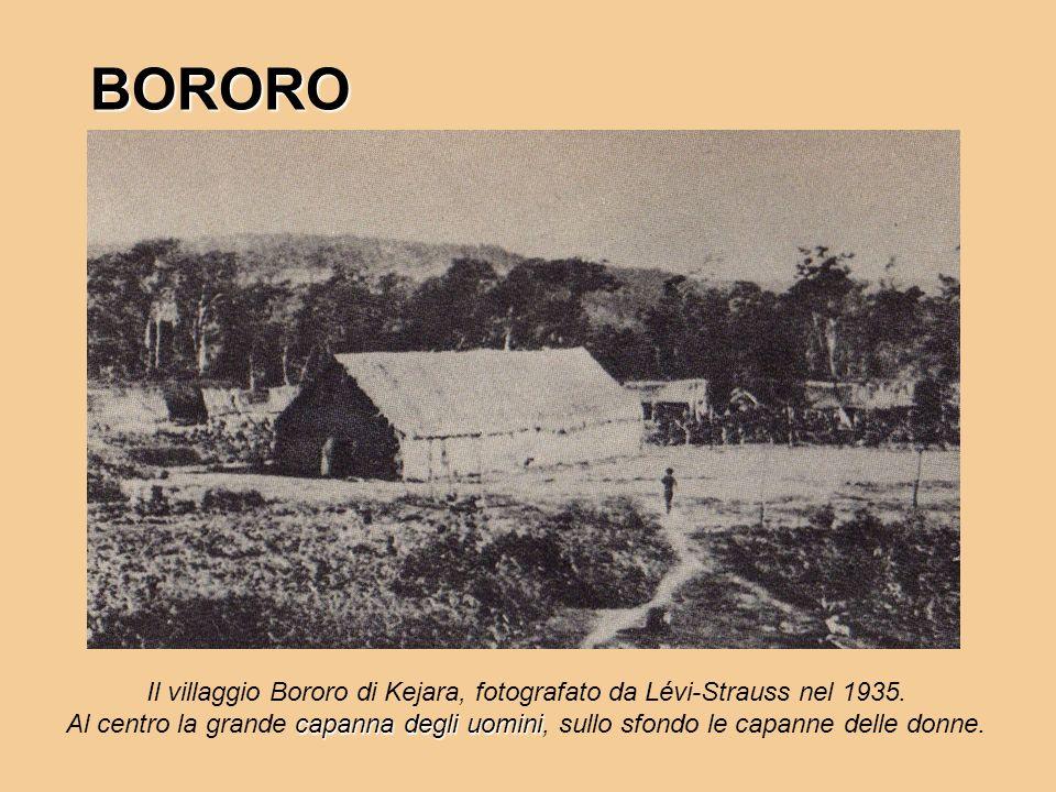 Il villaggio Bororo di Kejara, fotografato da Lévi-Strauss nel 1935.