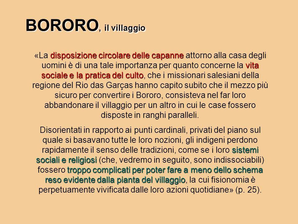 BORORO, il villaggio