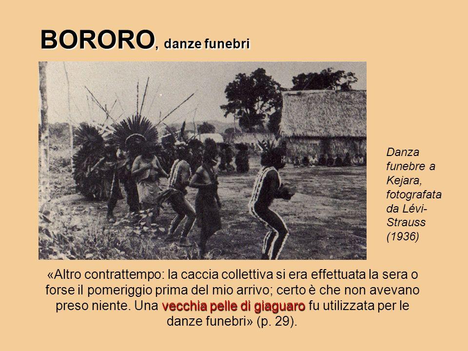 BORORO, danze funebri Danza funebre a Kejara, fotografata da Lévi-Strauss (1936)