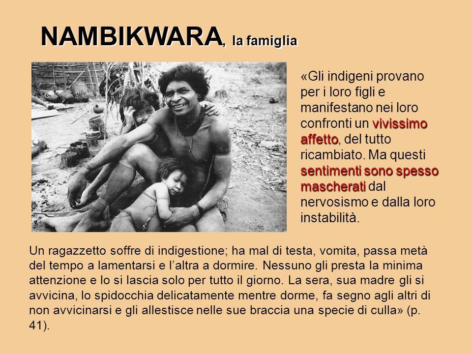 NAMBIKWARA, la famiglia