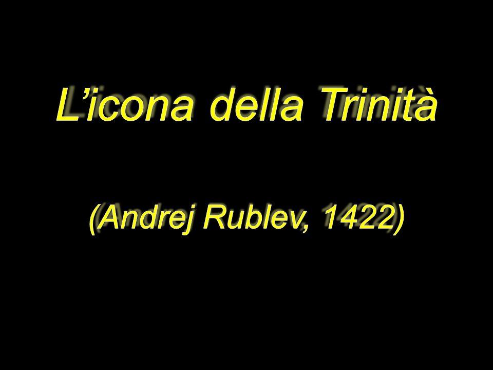 L'icona della Trinità (Andrej Rublev, 1422)