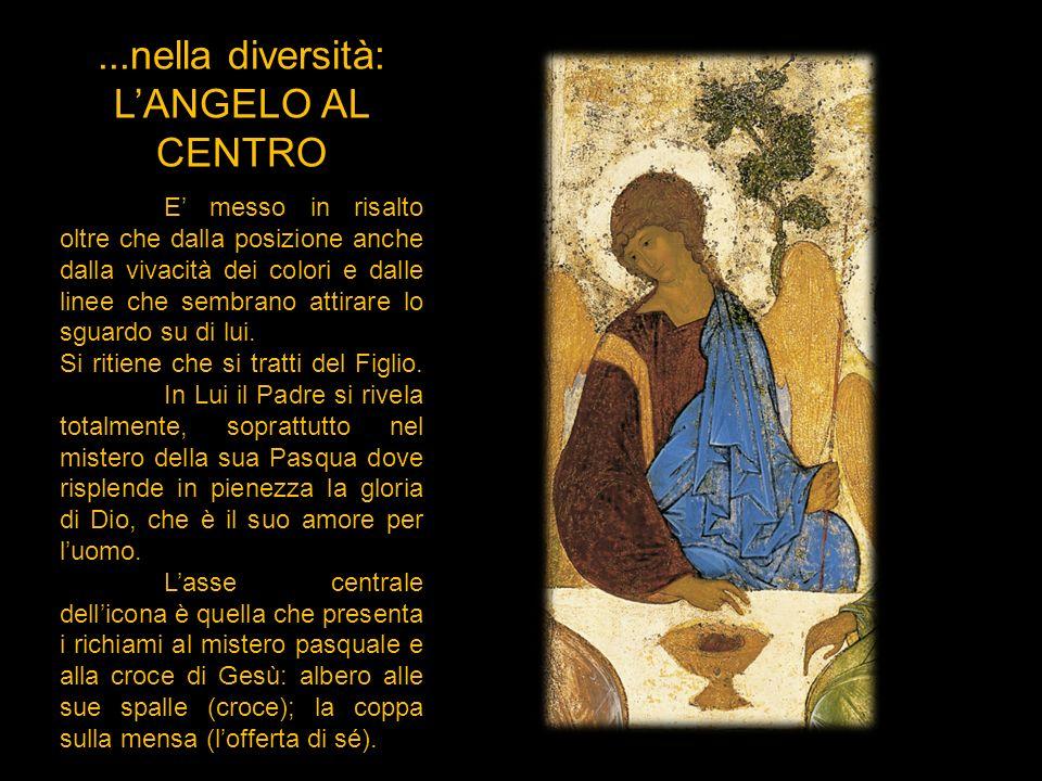 ...nella diversità: L'ANGELO AL CENTRO