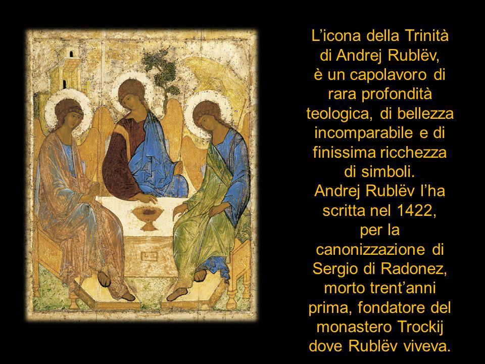L'icona della Trinità di Andrej Rublëv,