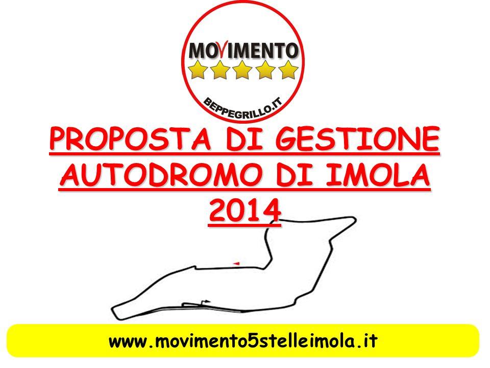 PROPOSTA DI GESTIONE AUTODROMO DI IMOLA 2014