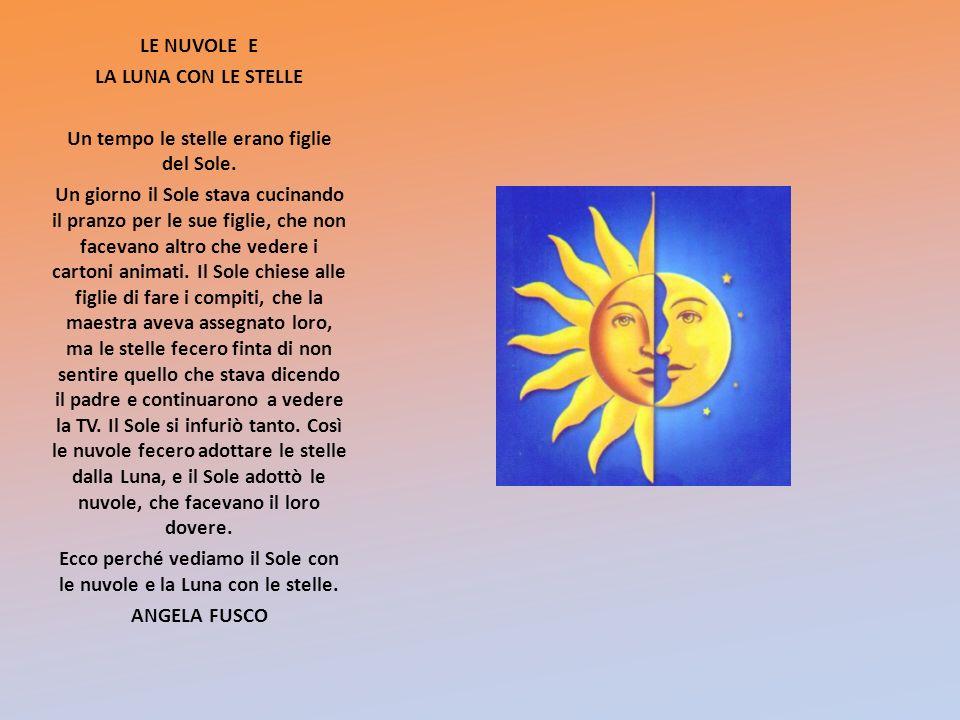 Ecco perché vediamo il Sole con le nuvole e la Luna con le stelle.