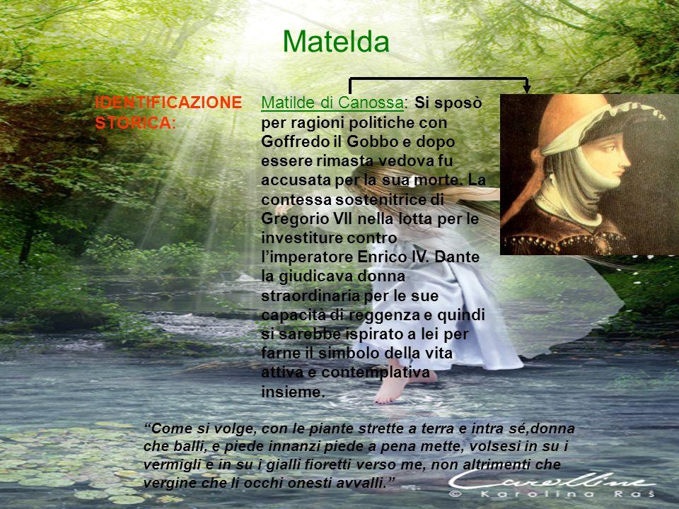 Matelda IDENTIFICAZIONE STORICA: