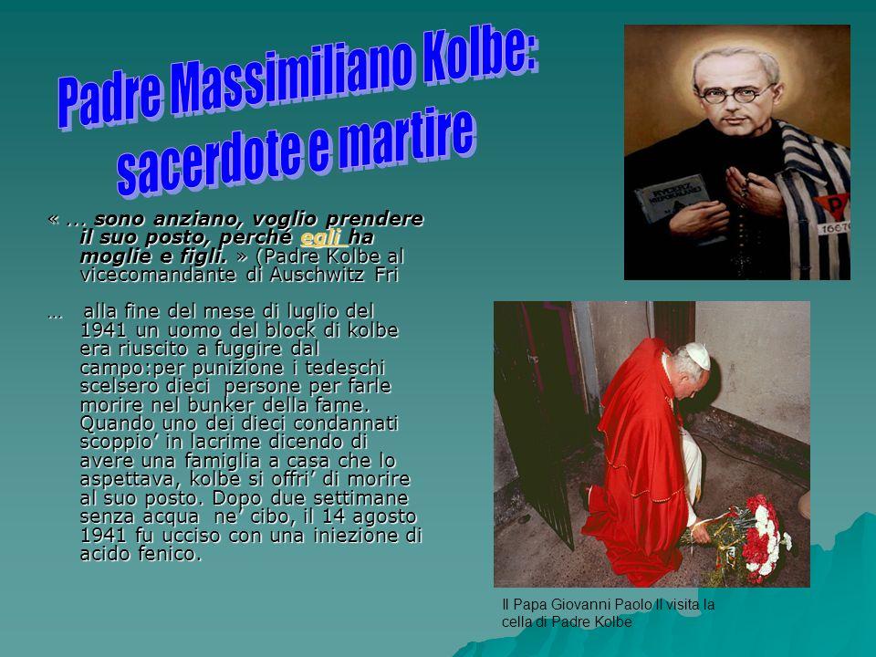 Padre Massimiliano Kolbe: