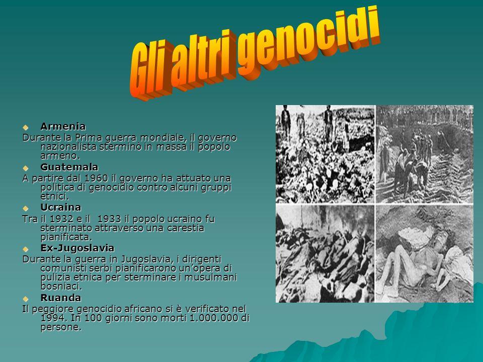 Gli altri genocidi Armenia