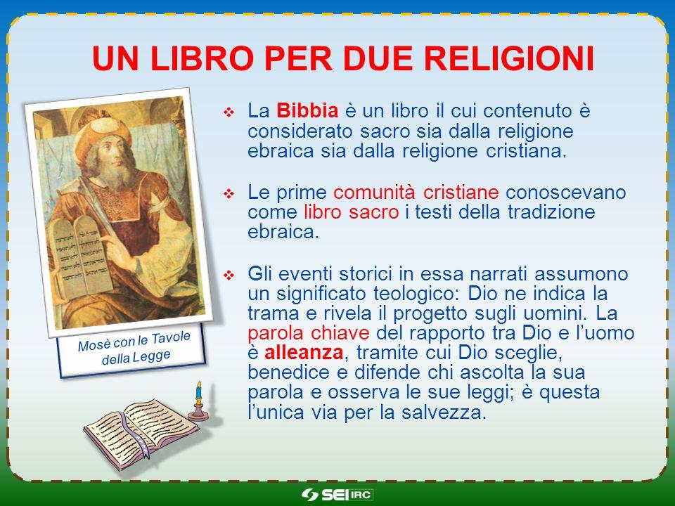 un libro per due religioni