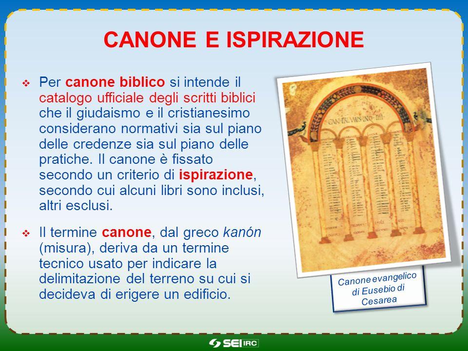 Canone evangelico di Eusebio di Cesarea
