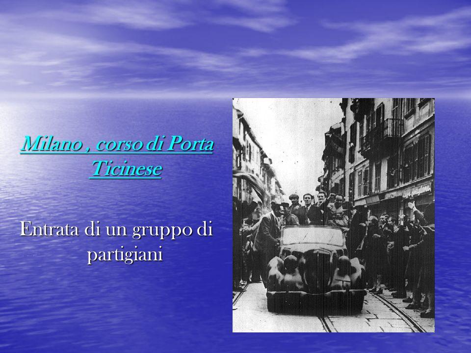 Milano , corso di Porta Ticinese