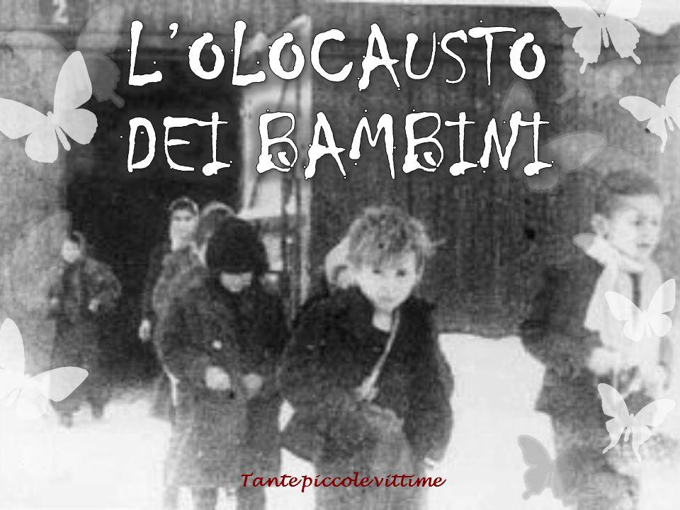 L'OLOCAUSTO DEI BAMBINI