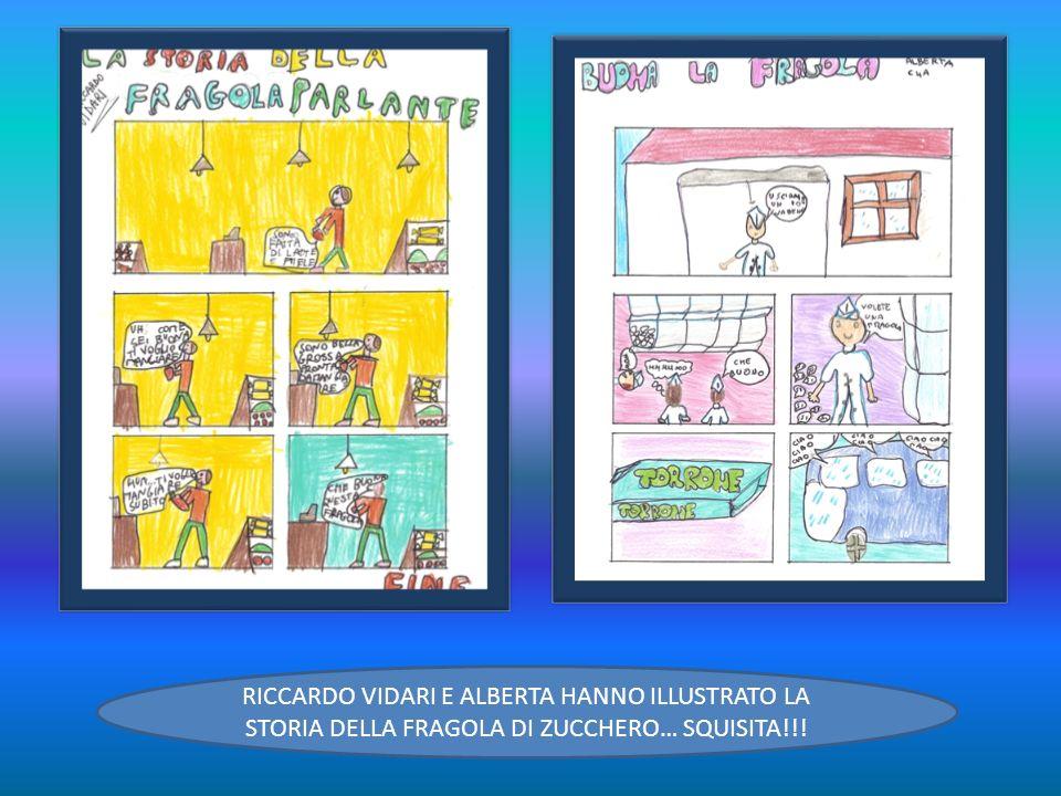 RICCARDO VIDARI E ALBERTA HANNO ILLUSTRATO LA STORIA DELLA FRAGOLA DI ZUCCHERO… SQUISITA!!!