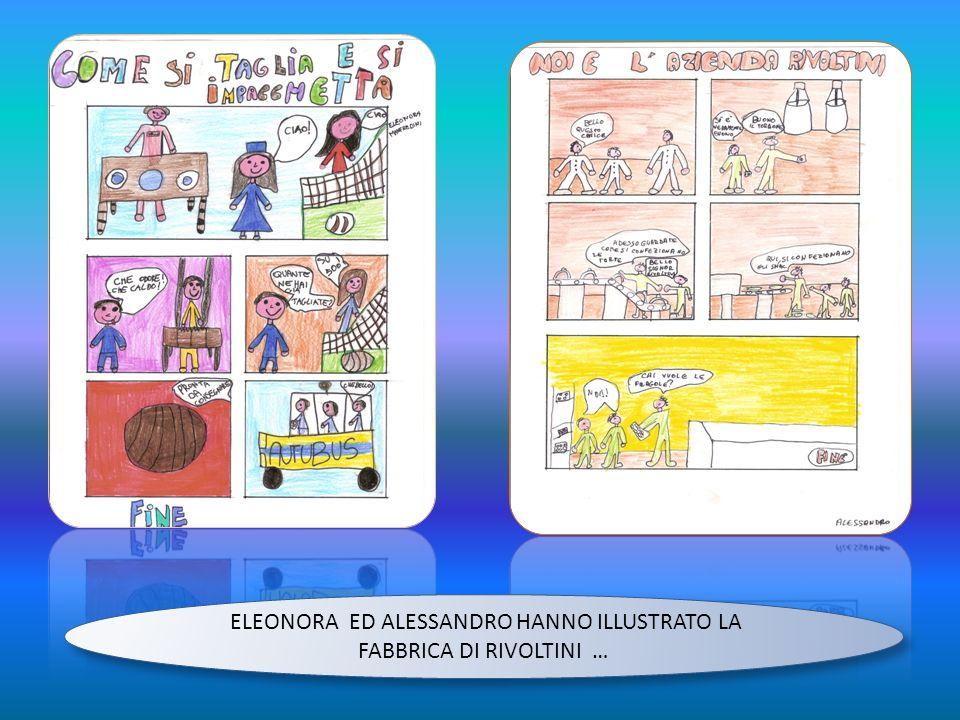 ELEONORA ED ALESSANDRO HANNO ILLUSTRATO LA FABBRICA DI RIVOLTINI …