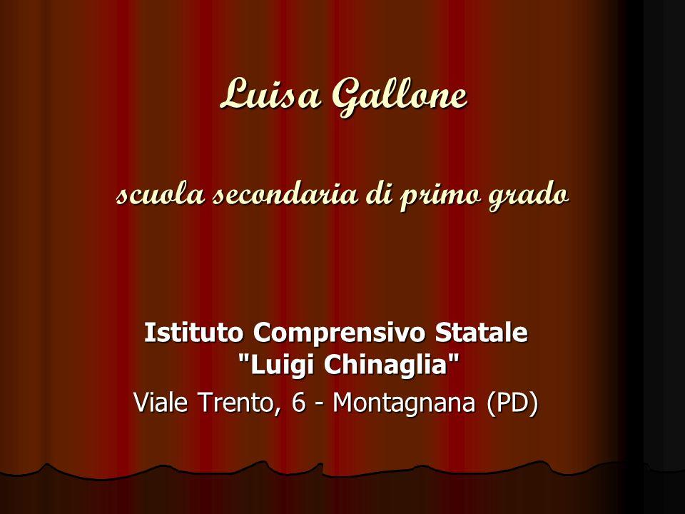 Luisa Gallone scuola secondaria di primo grado