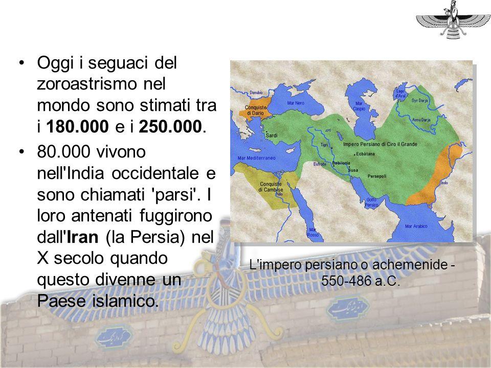 L impero persiano o achemenide - 550-486 a.C.