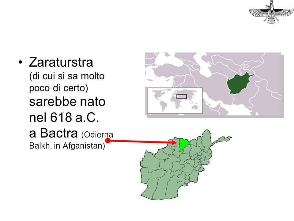 Zaraturstra (di cui si sa molto poco di certo) sarebbe nato nel 618 a