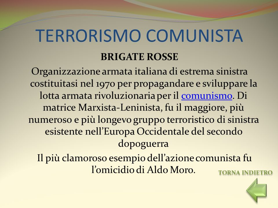 TERRORISMO COMUNISTA