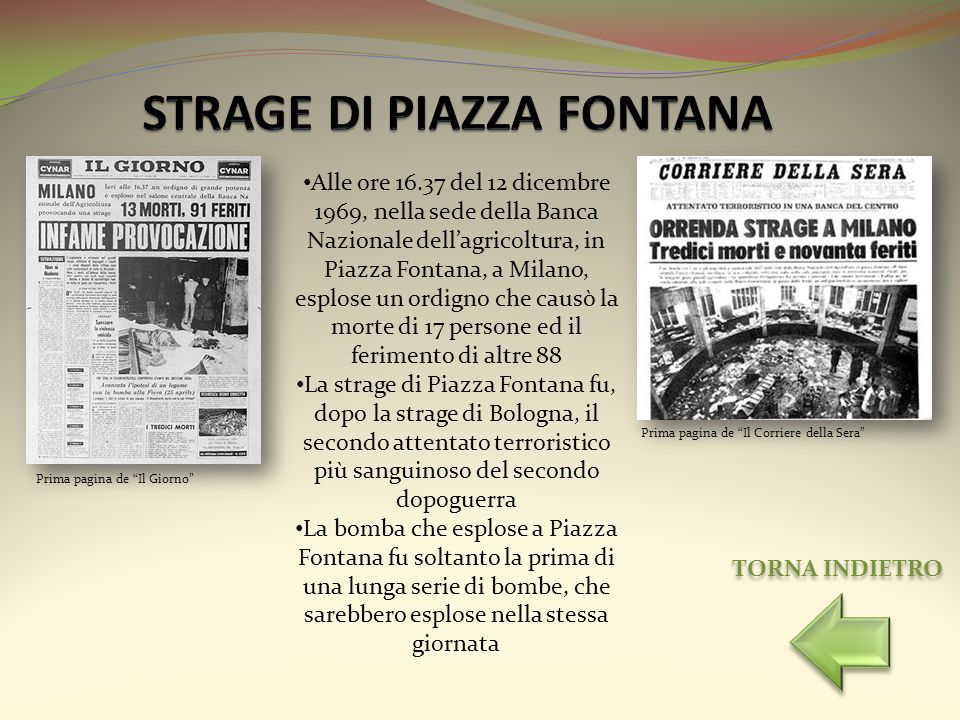 STRAGE DI PIAZZA FONTANA