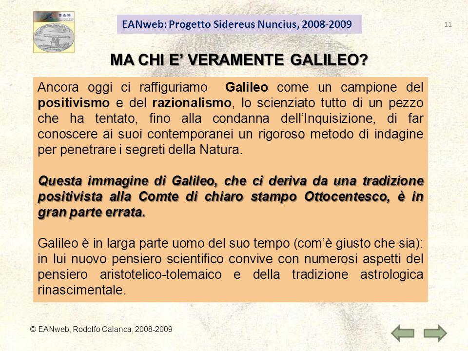 MA CHI E' VERAMENTE GALILEO