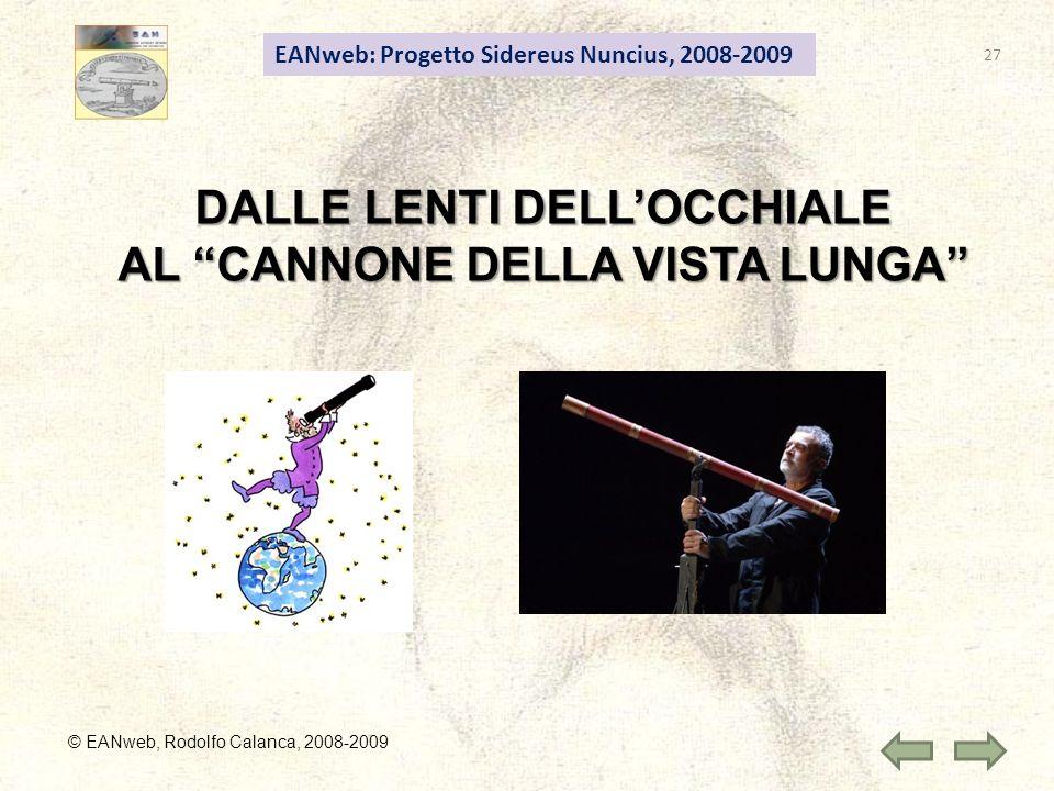 DALLE LENTI DELL'OCCHIALE AL CANNONE DELLA VISTA LUNGA