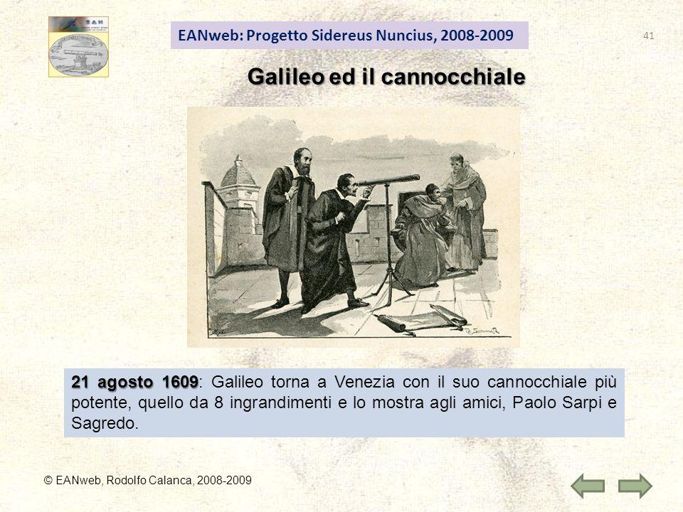 Galileo ed il cannocchiale