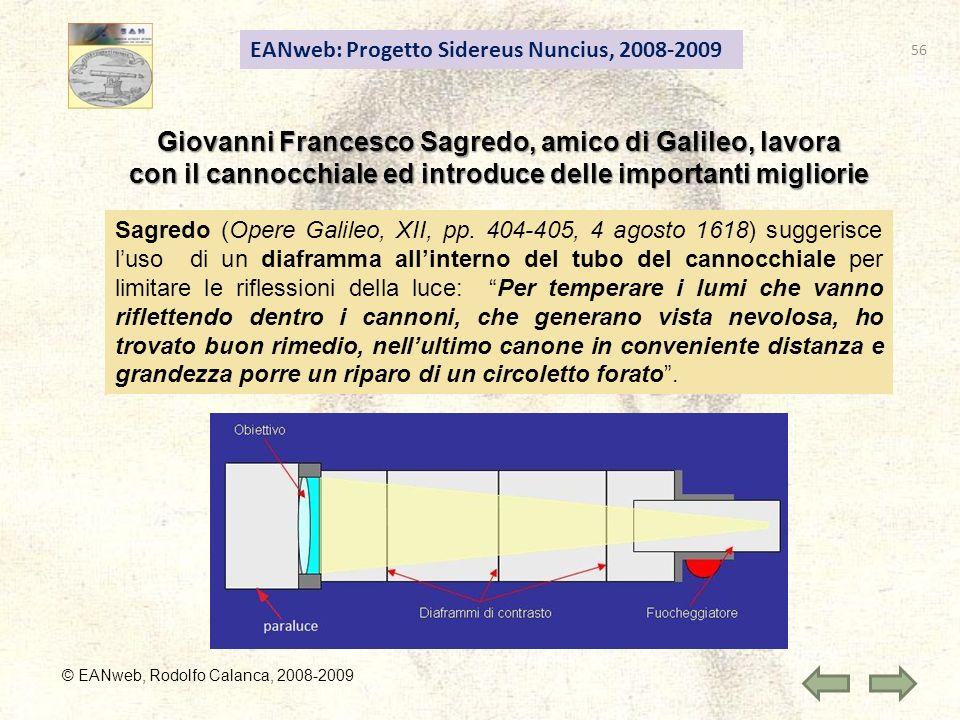 Giovanni Francesco Sagredo, amico di Galileo, lavora