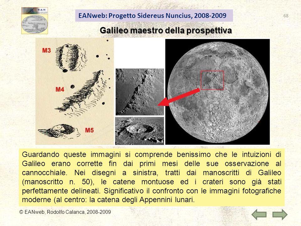 Galileo maestro della prospettiva