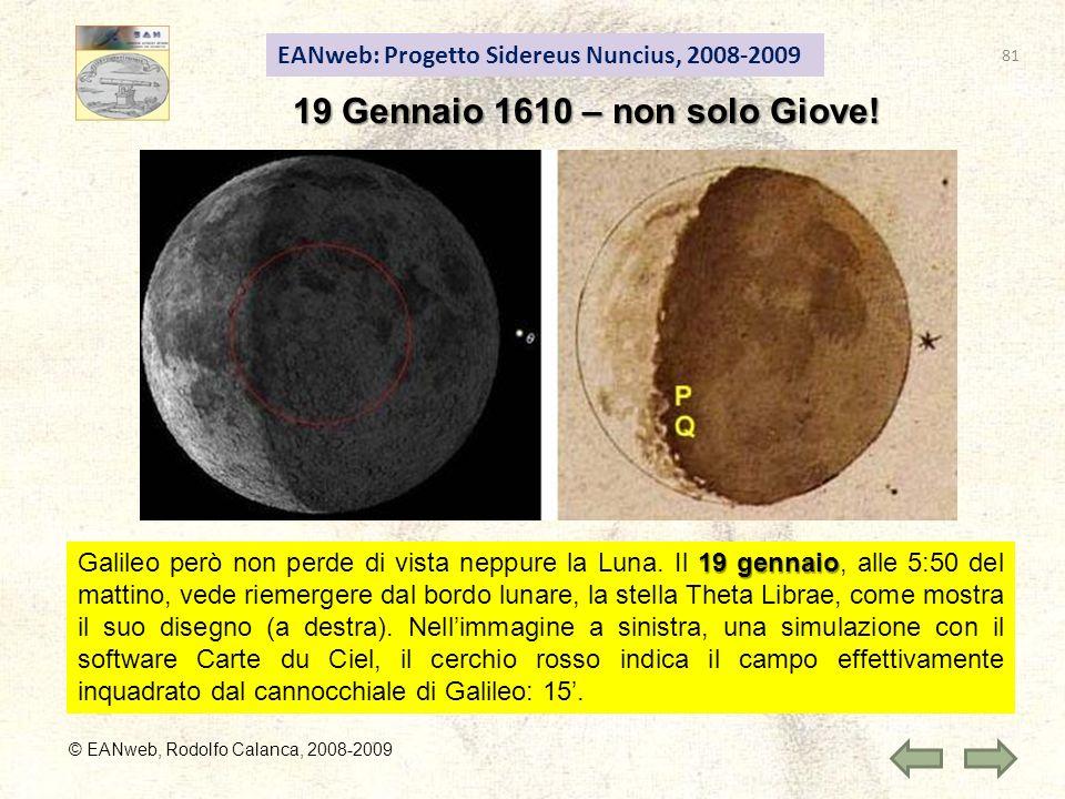 19 Gennaio 1610 – non solo Giove!