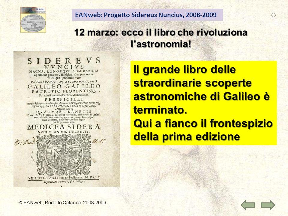 12 marzo: ecco il libro che rivoluziona l'astronomia!