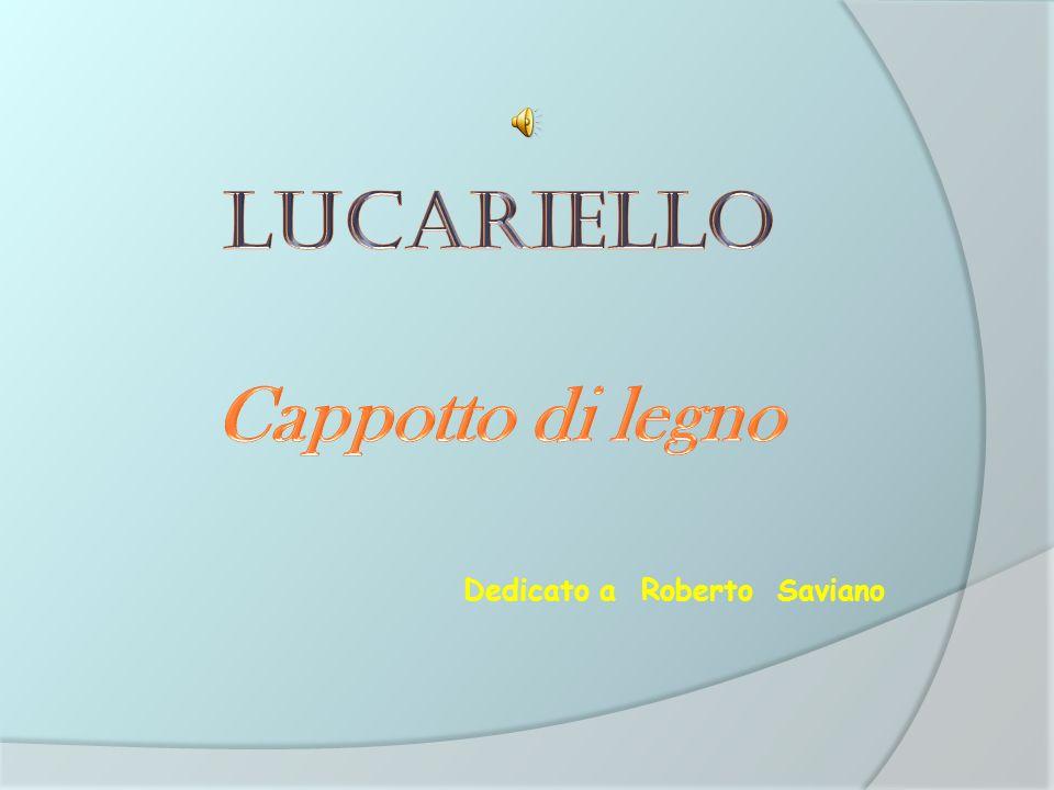 Lucariello Cappotto di legno Dedicato a Roberto Saviano