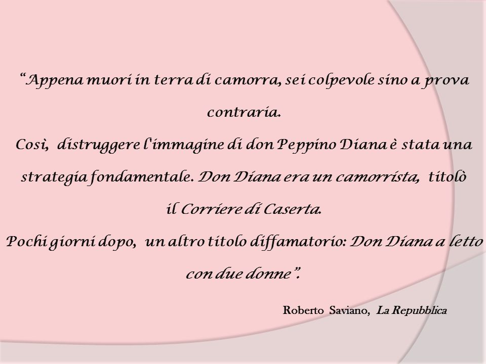 Roberto Saviano, La Repubblica