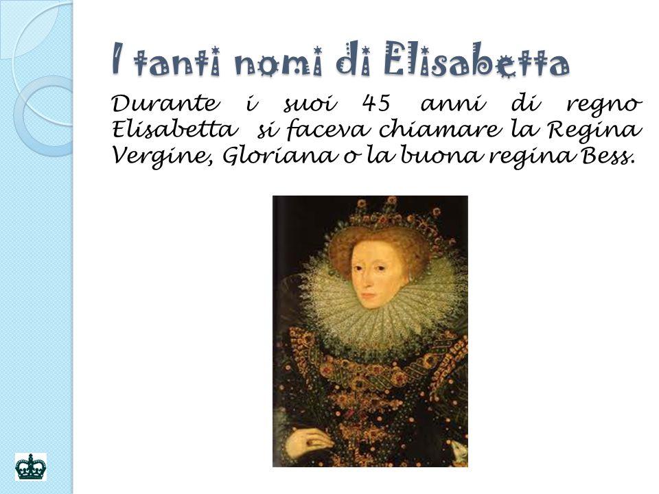 I tanti nomi di Elisabetta